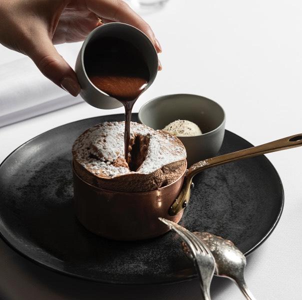 Grossi Florentino chocolate souffle